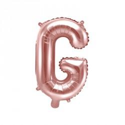 Ballon Lettre G Rose Gold 35cm