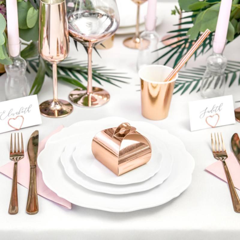 10 boites drag es rose gold drag es anahita. Black Bedroom Furniture Sets. Home Design Ideas