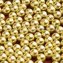 dragees Perles or par 100 Grammes