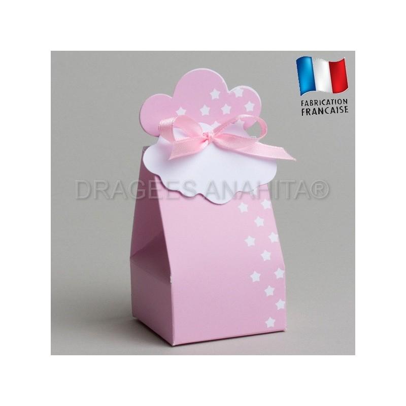 boite drag es rose pour naissance boite drag es naissance boite drag es bapteme. Black Bedroom Furniture Sets. Home Design Ideas