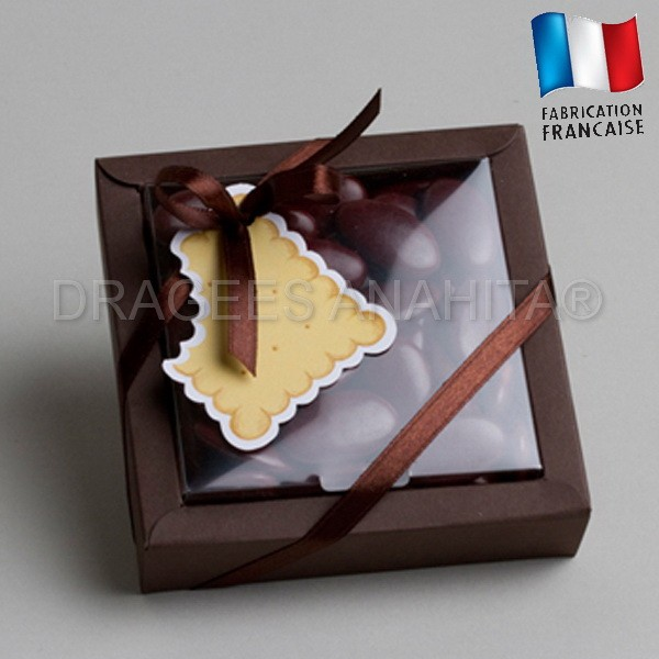 grande boite drages biscuit drages bapteme mariage theme gourmandise - Boite A Gateau Mariage Orientale