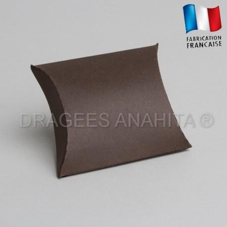 Pochette pour dragées chocolat