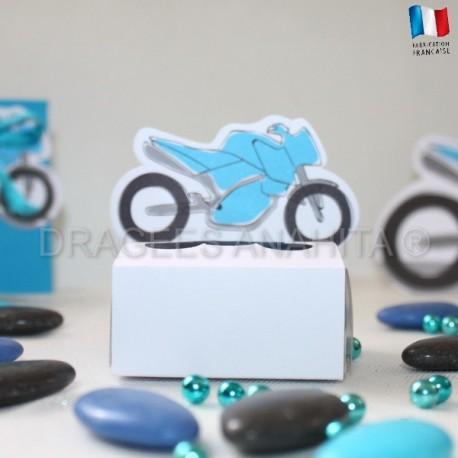 Carré à dragées moto