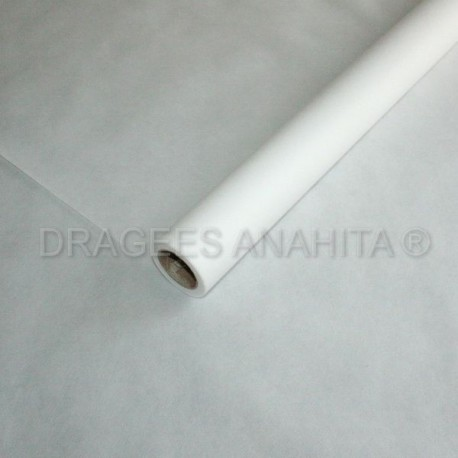Nappe  blanche Intissé en rouleau 10 mètres