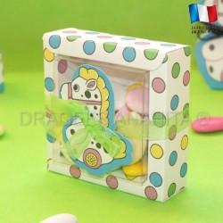 Grande boite pour dragées petit poney