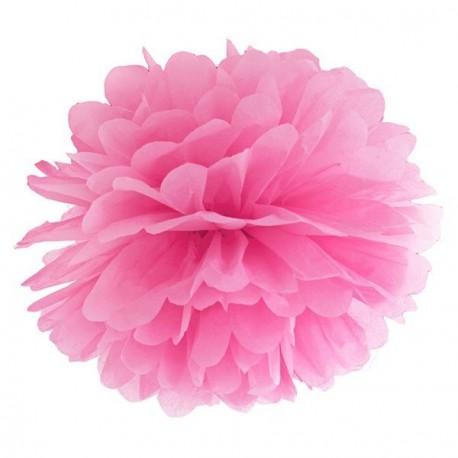 Pompon fuchsia 35 cm