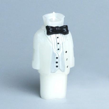 Bougie costume de marié