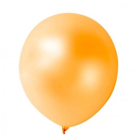 10 ballons métalisés lilas