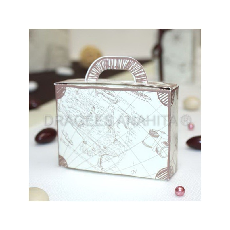 valise drages thme voyage - Valise Dragees Mariage