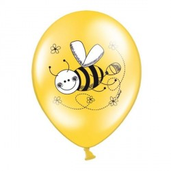 6 Ballons Gonflables Abeille