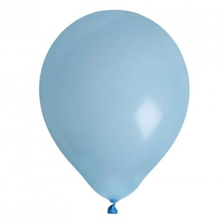 8 Ballons gonflables ciel 25 cm