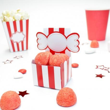 Boîte à dragées candy bar pas cher