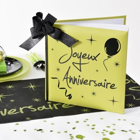 livre d 39 or joyeux anniversaire vert drag es anahita. Black Bedroom Furniture Sets. Home Design Ideas